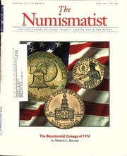 The Numismatist, May 2001