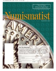 The Numismatist, November 2005