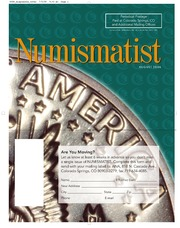 The Numismatist, August 2006