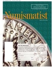 The Numismatist, November 2006