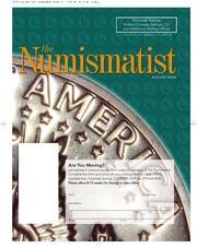The Numismatist, August 2008