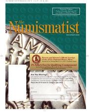 The Numismatist, December 2008