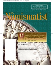 The Numismatist, April 2009 (pg. 76)