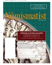The Numismatist, November 2009