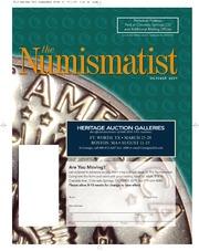 The Numismatist, October 2009