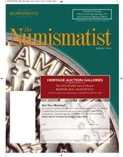 The Numismatist, August 2010