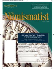 The Numismatist, March 2010