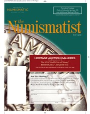 The Numismatist, May 2010