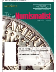 The Numismatist, April 2011