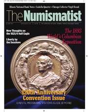 The Numismatist, June 2011