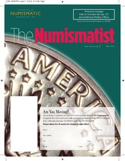 The Numismatist, May 2012