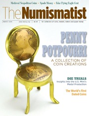 The Numismatist, March 2015