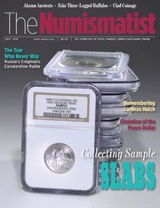 The Numismatist, May 2015
