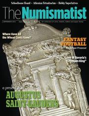 The Numismatist, September 2015