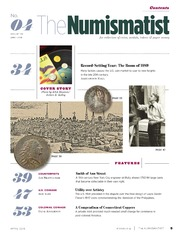 The Numismatist (April 2018)