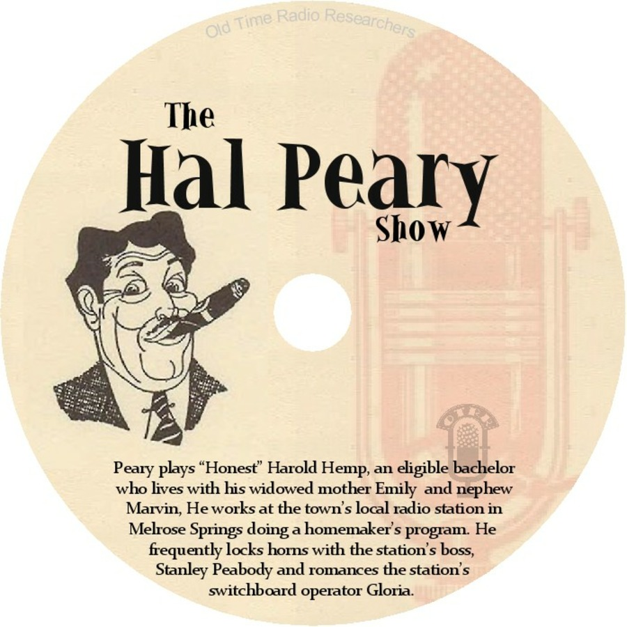 The Harold Peary Show - Single Episodes : Old Time Radio Researchers