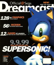 Official Sega Dreamcast Magazine US : Free Download, Borrow, and