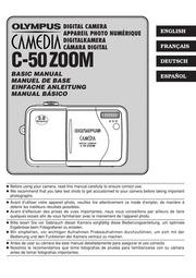 olympus camedia c 50 zoom digital camera user manual olympus rh archive org olympus camedia digital camera c-50 zoom manual Samsung Digimax