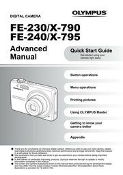 olympus fe 230 x 790 digital camera user manual olympus free rh archive org Moto X Manual Jaybird BlueBuds X Manual