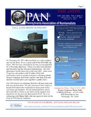 PAN eNEWS, November/December 2012