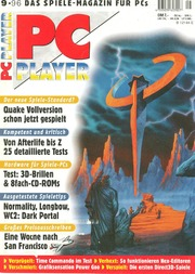 PC Player German Magazine 1996-09