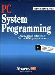 PC system programming : Tischer, Michael, 1953- : Free