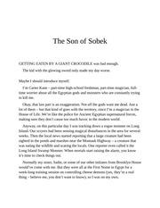 Son of jackson pdf percy sobek