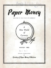 Paper Money (Winter 1962)