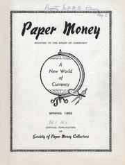 Paper Money (Spring 1962)