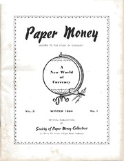 Paper Money (Winter 1964)