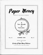 Paper Money (Summer 1964)