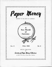 Paper Money (Fall 1964)