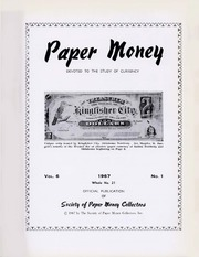 Paper Money (First Quarter 1967)