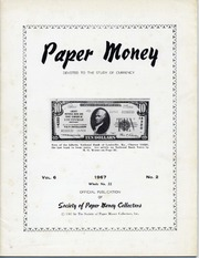 Paper Money (Second Quarter 1967)