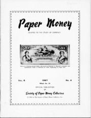 Paper Money (Fourth Quarter 1967)