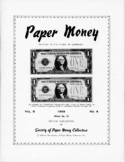 Paper Money (Fourth Quarter 1969)