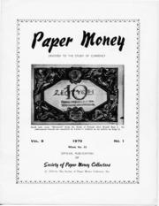 Paper Money (First Quarter 1970)