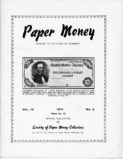 Paper Money (Second Quarter 1971)