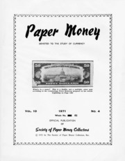 Paper Money (Fourth Quarter 1971)