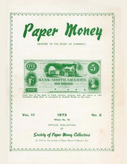 Paper Money (Second Quarter 1972)