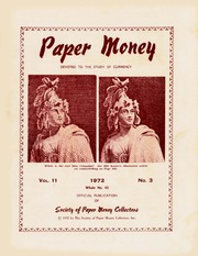 Paper Money (Third Quarter 1972)