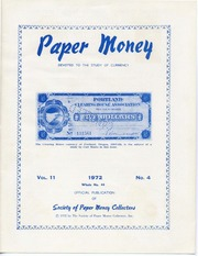 Paper Money (Fourth Quarter 1972)