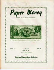 Paper Money (Second Quarter 1973)
