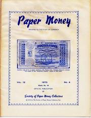 Paper Money (Fourth Quarter 1973)