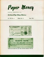 Paper Money (May 1974)