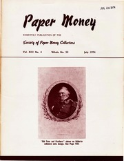 Paper Money (July 1974)