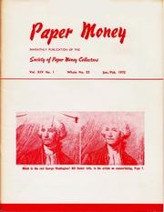 Paper Money (January/February 1975)