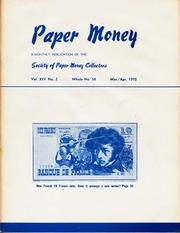 Paper Money (March/April 1975)