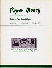 Paper Money (May/June 1975)
