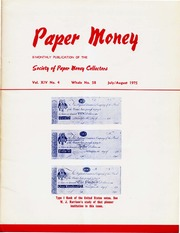 Paper Money (July/August 1975)